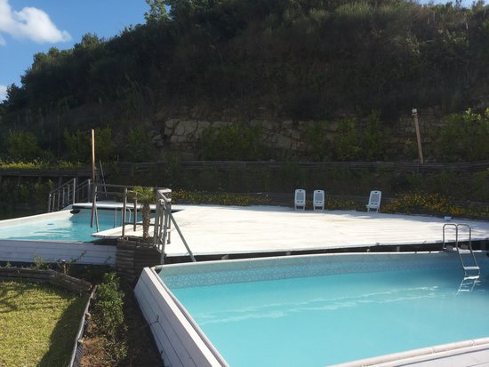 Poggio del Cenito : piscinette utili per divertire bambini e ragazzi.