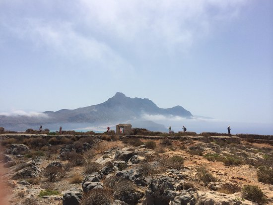 Cretan Daily Cruises : On top of the fort.