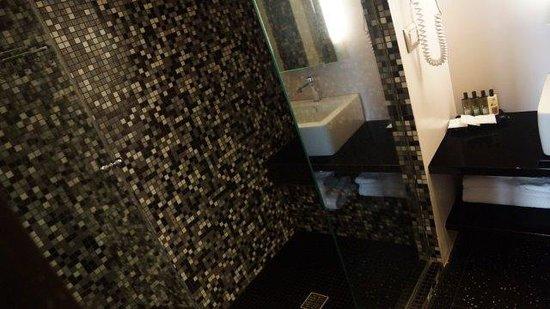 Dharma Hotel & Luxury Suites: Shower