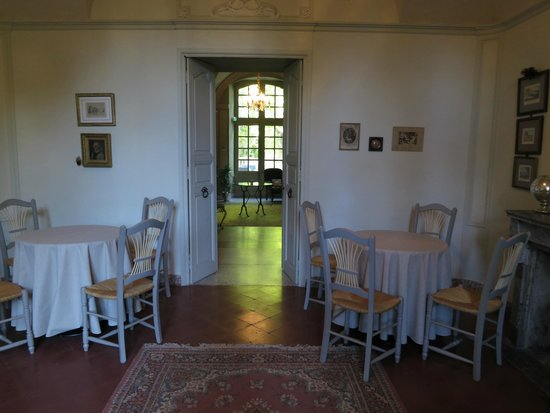 Chateau de Roussan : Salita