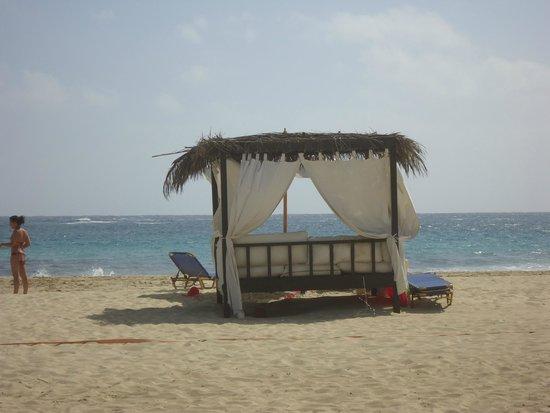Jaz Oriental Club: Il gazebo sulla spiaggia