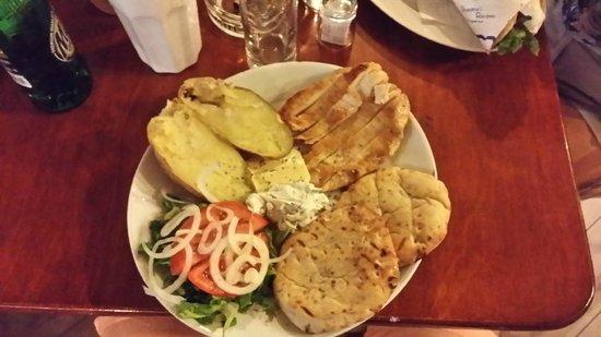 Grandma's Recipes: Pita al piatto con petto di pollo