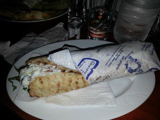 Grandma's Recipes: Pita gyros xxl