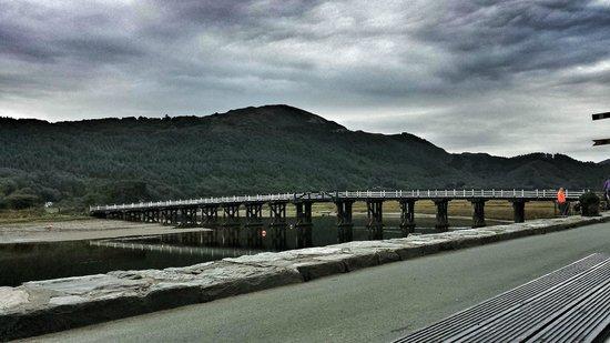 The Mawddach Trail: The toll bridge