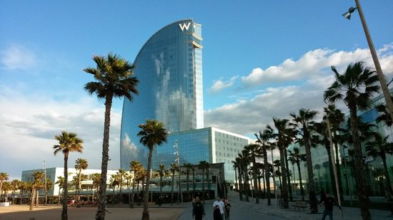 W Barcelona: hotel