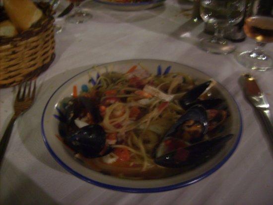 Chez Achour : spaghetti allo scoglio