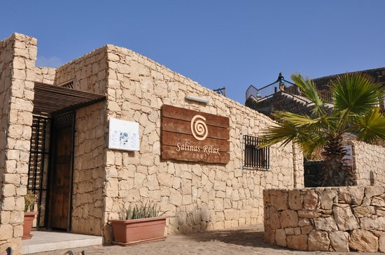 Pedra Lume Salt Crater: Bar, sklepik z pamiatkami i toalety.