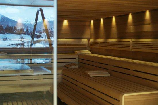 Hotel Seehof Davos: Sauna