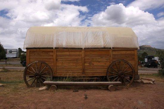 Zion Ponderosa Ranch Resort : carromato