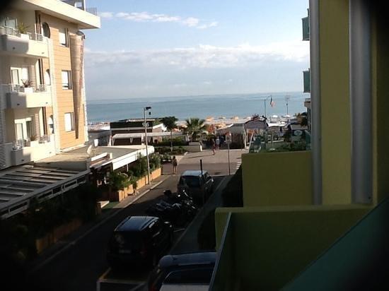 Hotel Montecarlo: vista dal balcone