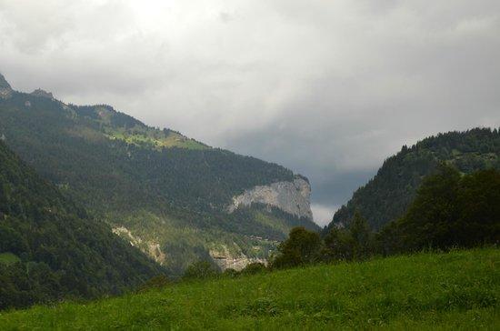 Jungfraujoch Sphinx Observatory: During train journey