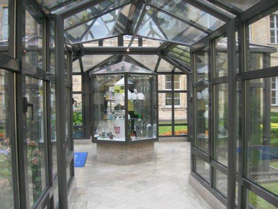 Welcome Hotel Residenzschloss Bamberg: Il corridoio