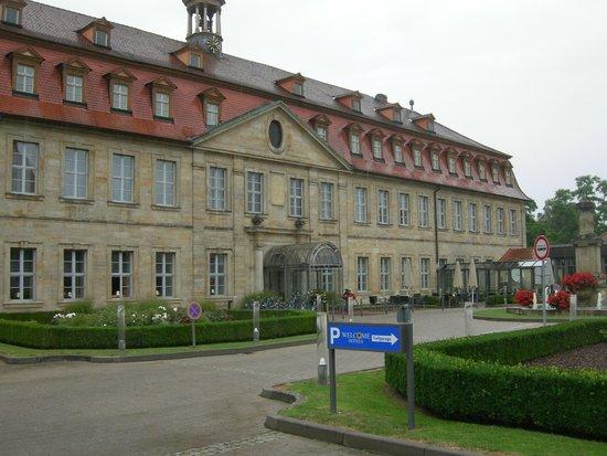 Welcome Hotel Residenzschloss Bamberg: la facciata esterna