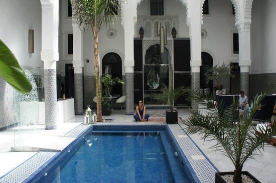 Riad Braya : courre interieure