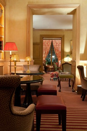 Hotel de l'Abbaye Saint-Germain: Lounge
