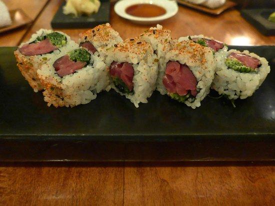 Masa: Spicy tuna roll