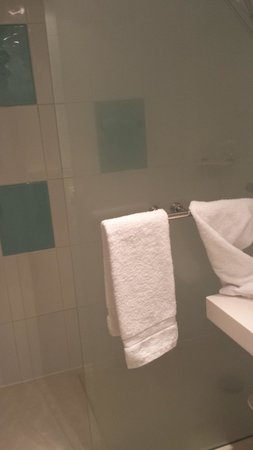 Novotel Paris Sud Porte de Charenton: bagno, fantastica la doccia!!!