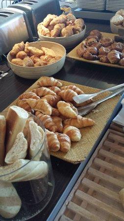 Novotel Paris Sud Porte de Charenton : colazione