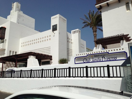 Club Jandia Princess: Hôtel (vue extérieure)
