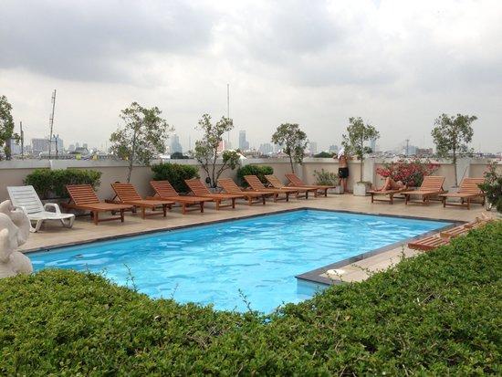 Rikka Inn: 屋上のプール