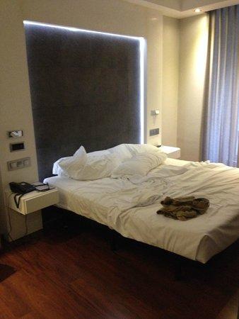 Hotel Regina: letto