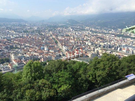 Bastille Téléphérique : 山頂からの眺め