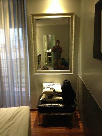 Hotel Regina: particolari della camera