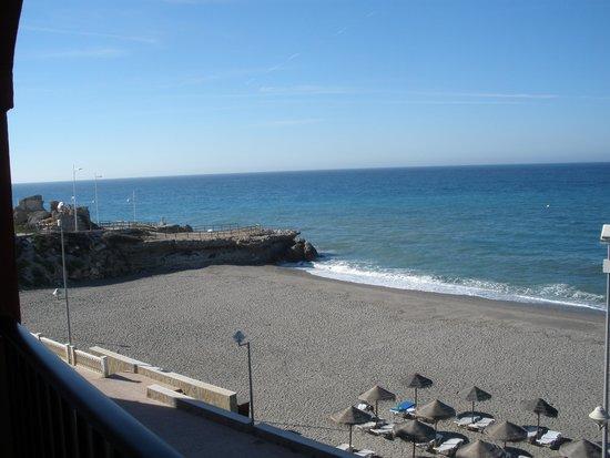 Hotel Perla Marina: La playa a un paso