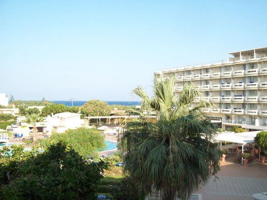 Electra Palace Rhodes : View of the sea from our room