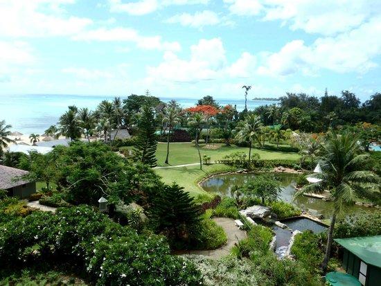 Hyatt Regency Saipan : Вид с балкона
