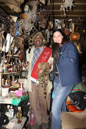 Liziwe's Guest House & Tours: Visit our Sangoma (Traditional healer)