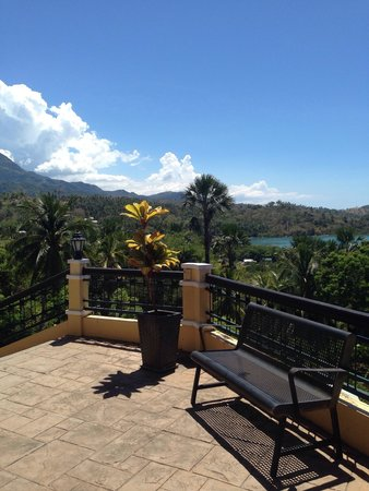 The Manor at Puerto Galera: View from the resturant