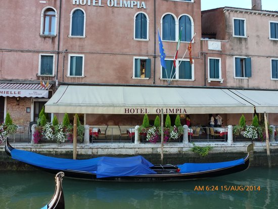 HOTEL OLIMPIA Venice : Front of the hotel