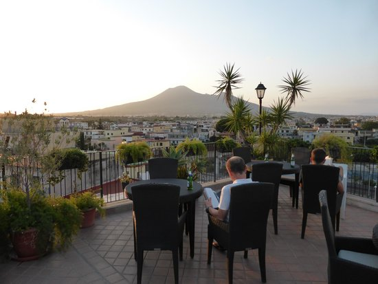Hotel Palma: View from the roof garden