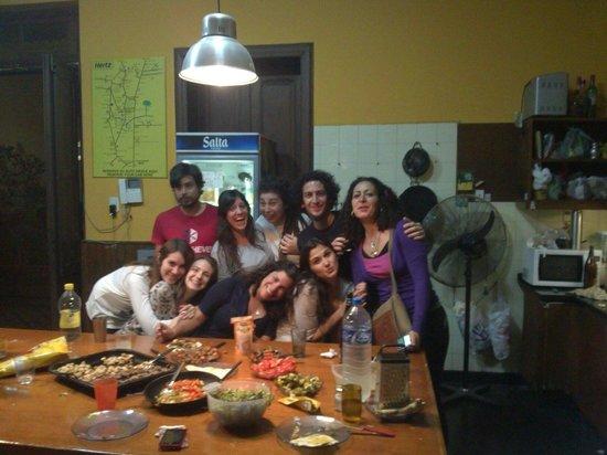 Hostal Prisamata: Tacos mexicanos a la prisamata