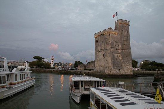 Vieux Port : Ла-Рошель, отблеск заката