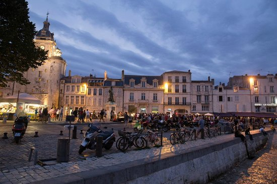Vieux Port : Ла-Рошель, вечер