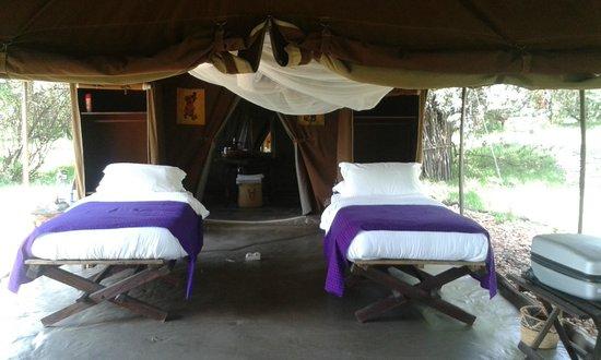 Enkerende Tented Camp : Nuestra habitación
