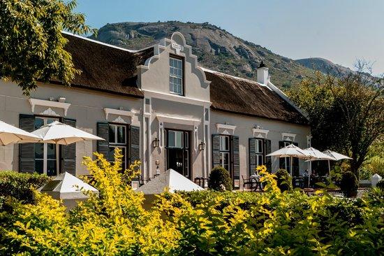 Bosman's Restaurant : Echt Kaap Hollandse stijl