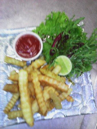 The Dining Room Restaurant, Bar & Pizzeria: Friench friesh