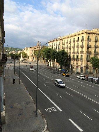 Hotel Ciutadella Barcelona: Panoramica di mattina