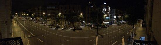 Hotel Ciutadella Barcelona: Panoramica a 180° dalla mia camera