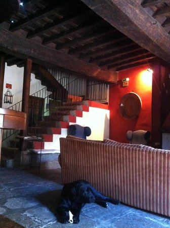 Casa Rural con encanto Los Postigos: Salón