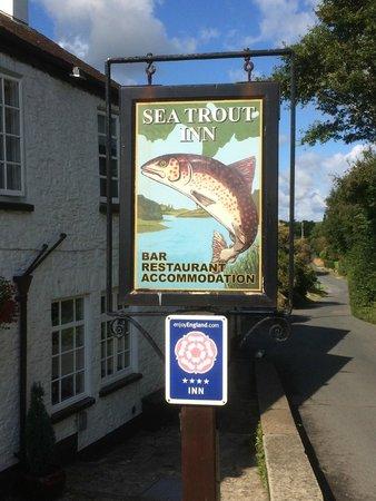 Sea Trout Inn: The Sea Trout - Sign