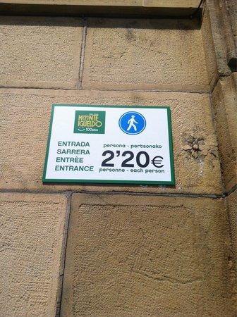 """Monte Igueldo: Ni andando es gratis """"el monte"""""""