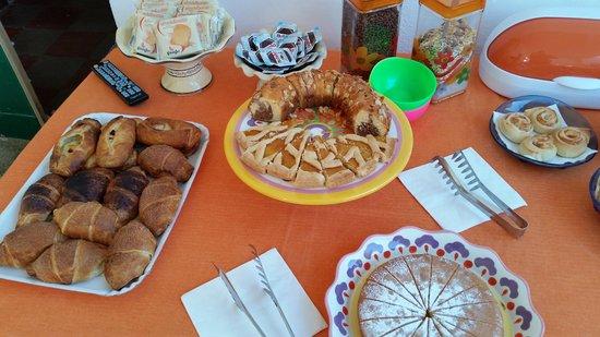 Villa Elisa : colazione buffet