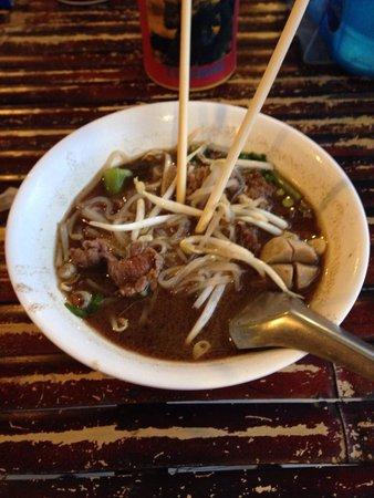 Ao Nang Boat Noodle: Boat noodle beef soup