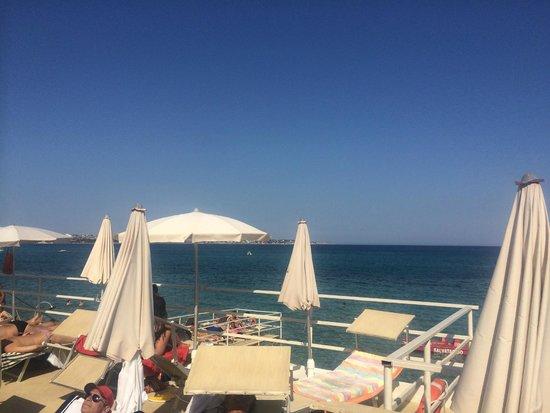 Hotel Principe di Fitalia Wellness & SPa: Hoteleigenes Strandbad