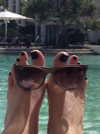 Sheraton Grand Mirage Resort, Gold Coast: Poolside