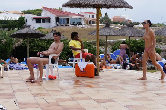 Cala'n Forcat, İspanya: lifeguard on duty at all times